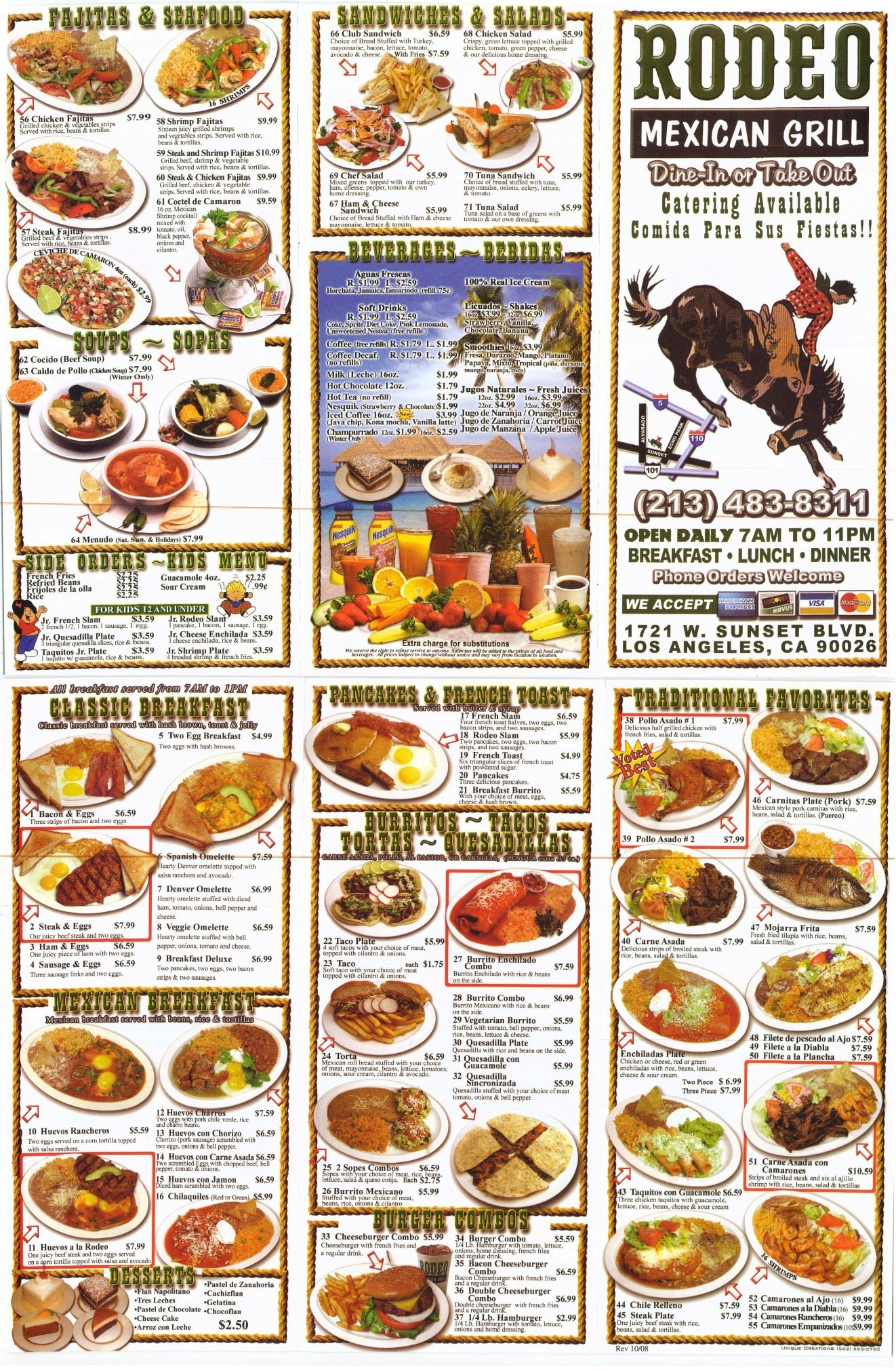 Rodeo Mexican Food Sunset