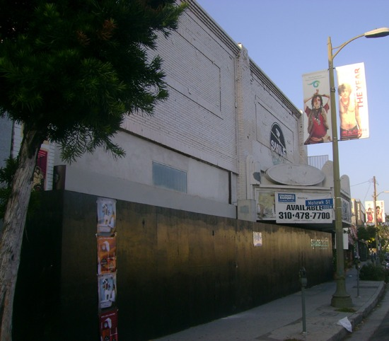 ... new restaurant being installed in the old Ramona Theater in Echo Park.