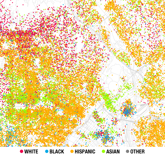 Zooming in on Echo Park The racial mapping project  Echo Park Now