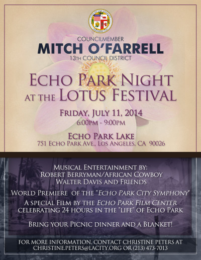 Echo Park Night at the Lotus Festival
